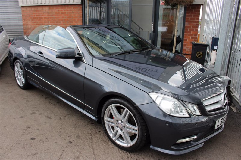 used Mercedes E250 CDI BLUEEFFICIENCY SPORT in warrington-cheshire