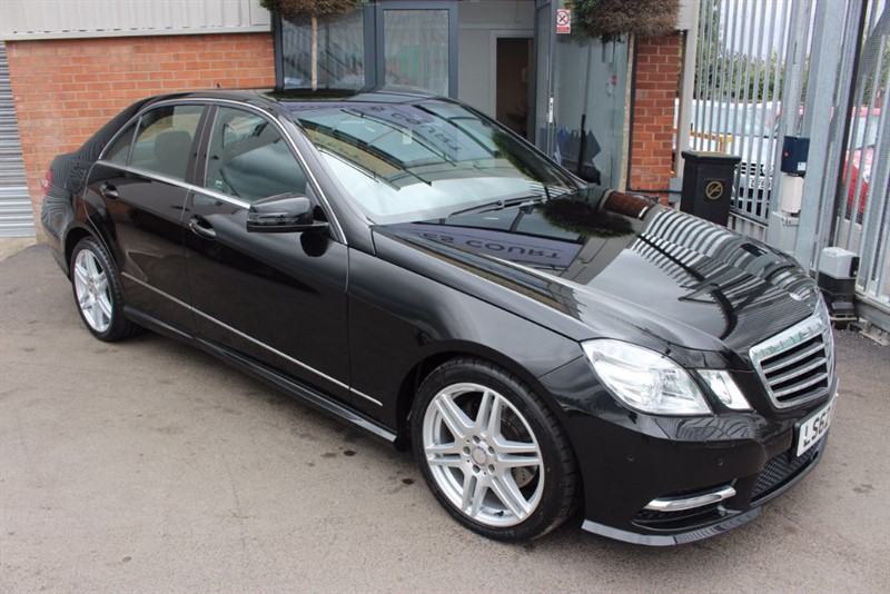 used Mercedes E250 CDI BLUEEFFICIENCY SPORT-SUPERB LOW MILEAGE-SAT NAV in warrington-cheshire