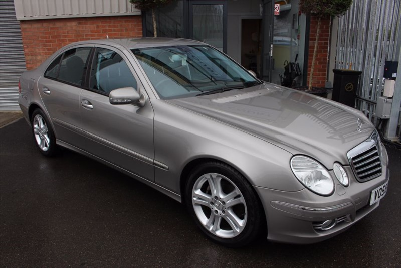 used Mercedes E280 CDI AVANTGARDE-CRUISE CONTROL-HALF LEATHER in warrington-cheshire