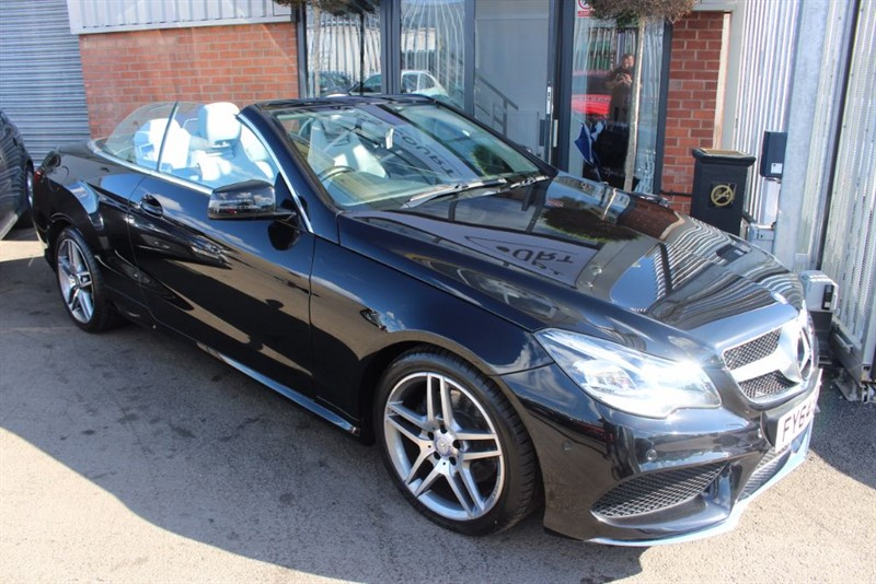 used Mercedes E350 BLUETEC AMG SPORT WITH AIR SCARF in warrington-cheshire