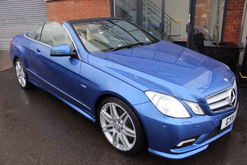 used Mercedes E350 CDI BLUEEFFICIENCY SPORT-HEATED LEATHER SEATS-CRUISE CONTROL-P/SENSORS in warrington-cheshire