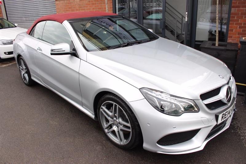 used Mercedes E350 BLUETEC AMG SPORT-SAT NAV-HEATED SEATS-HARMAN KARDON in warrington-cheshire