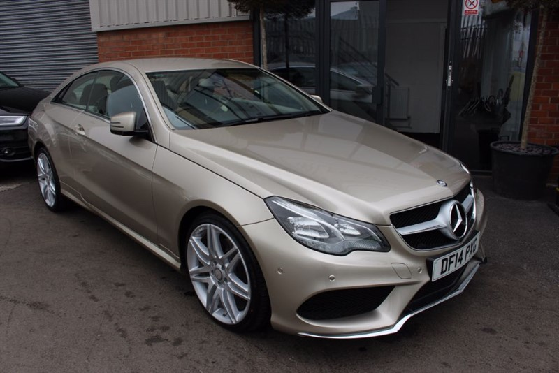 """used Mercedes E350 BLUETEC AMG SPORT-1 OWNER-19"""" ALLOYS. in warrington-cheshire"""