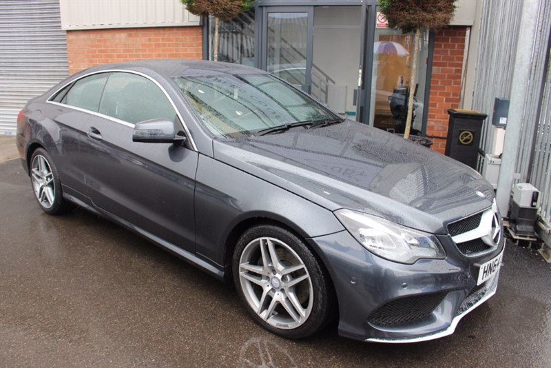 used Mercedes E350 BLUETEC AMG LINE-SATNAV-1 OWNER in warrington-cheshire