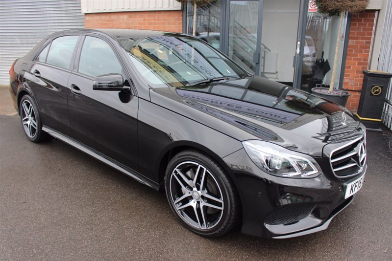 used Mercedes E350 BLUETEC AMG NIGHT EDITION-SAT NAV in warrington-cheshire