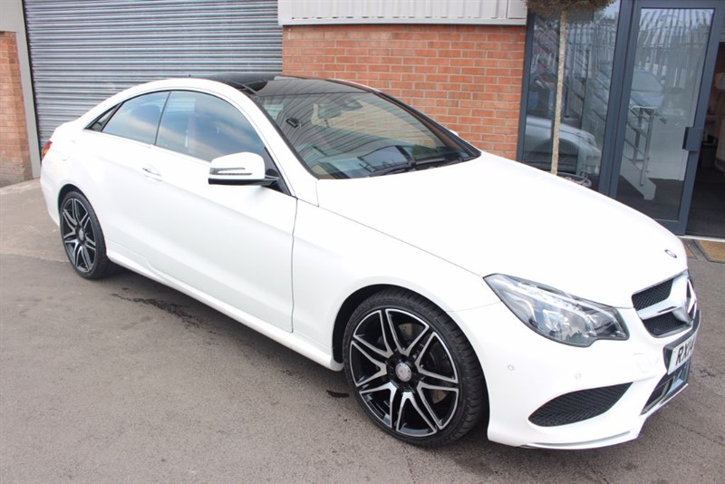 used Mercedes E400 AMG SPORT PLUS in warrington-cheshire