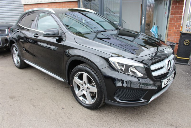 used Mercedes GLA200 CDI AMG LINE-1 OWNER-£20 ROAD TAX in warrington-cheshire