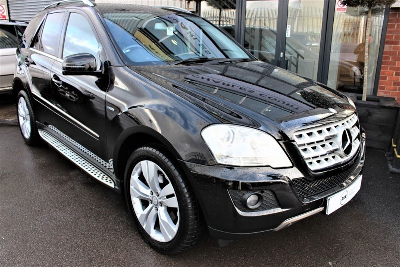 used Mercedes ML300 CDI BLUEEFFICIENCY SPORT in warrington-cheshire