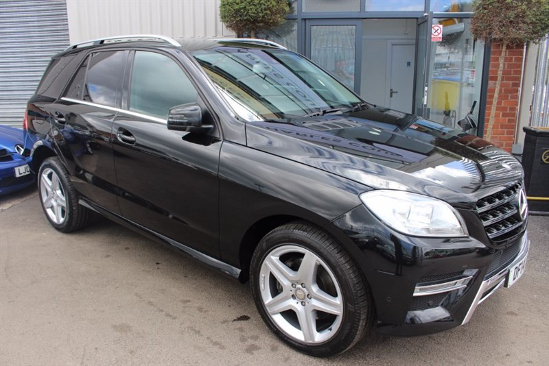used Mercedes ML350 BLUETEC AMG SPORT-SATNAV & HEATED ELECTRIC SEATS in warrington-cheshire