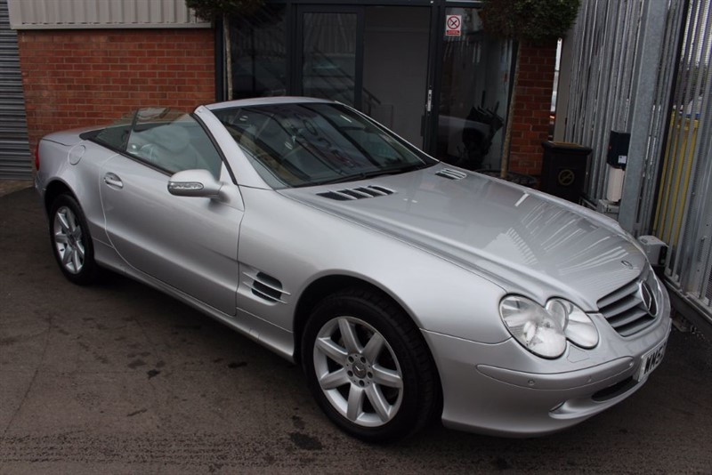 used Mercedes SL500 FULL LEATHER-CRUISE CONTROL in warrington-cheshire