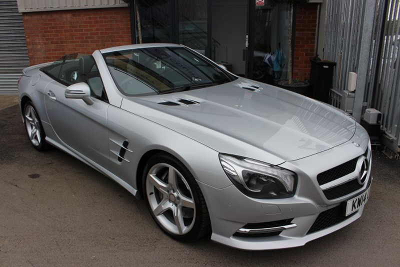 used Mercedes SL350 AMG SPORT in warrington-cheshire
