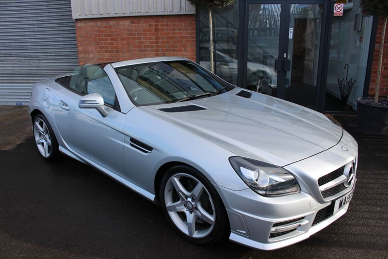 used Mercedes SLK SLK250 CDI BLUEEFFICIENCY AMG SPORT WITH AIRSCARF in warrington-cheshire