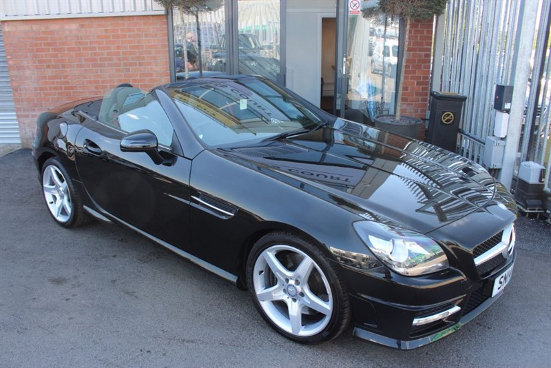 used Mercedes SLK SLK250 CDI BLUEEFFICIENCY AMG SPORT in warrington-cheshire