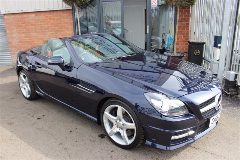 used Mercedes SLK SLK200 BLUEEFFICIENCY AMG SPORT WITH AIRSCARF in warrington-cheshire