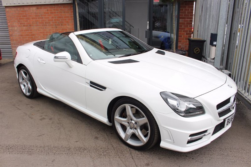 used Mercedes SLK250 CDI BLUEEFFICIENCY AMG SPORT-CRUISE CONTROL-LEATHER UPHOLSTERY in warrington-cheshire