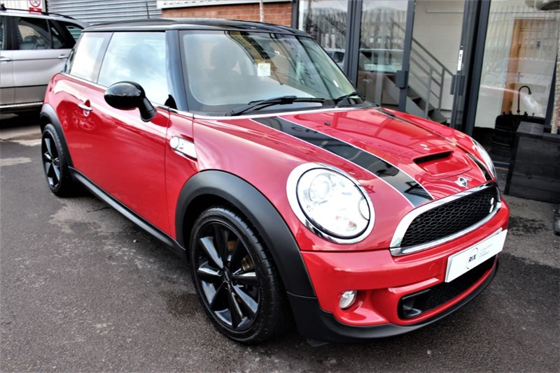 used MINI Cooper S D-HEATED LEATHER in warrington-cheshire