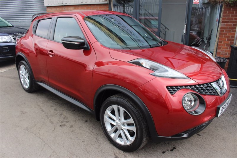 used Nissan Juke ACENTA PREMIUM DCI-SATNAV in warrington-cheshire