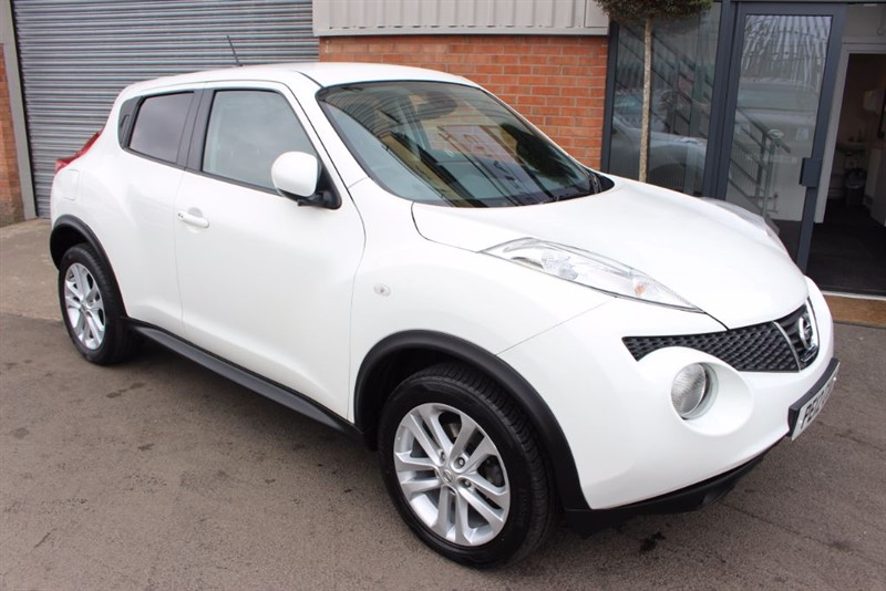 used Nissan Juke TEKNA DIG-T in warrington-cheshire