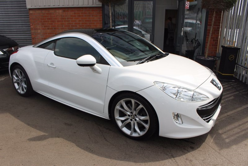 used Peugeot RCZ HDI GT-BLACK LEATHER in warrington-cheshire