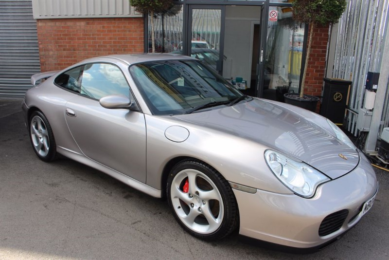 used Porsche 911 996 CARRERA 4S TIPTRONIC S-LOW MILEAGE EXAMPLE. in warrington-cheshire