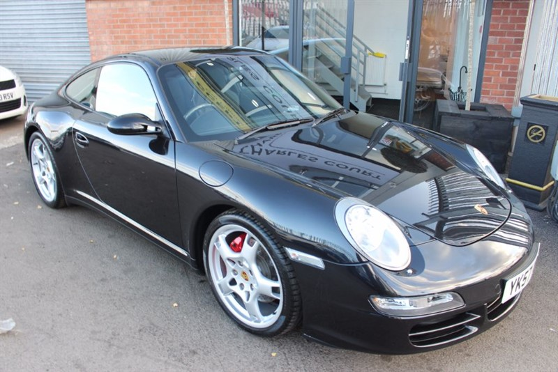 used Porsche 911 CARRERA 4S TIPTRONIC-SATNAV-BOSE SOUND SYSTEM-HEATED LEATHER in warrington-cheshire