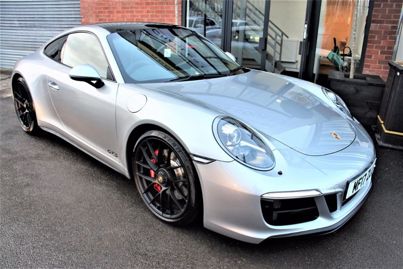 used Porsche 911 CARRERA 4 GTS PDK in warrington-cheshire
