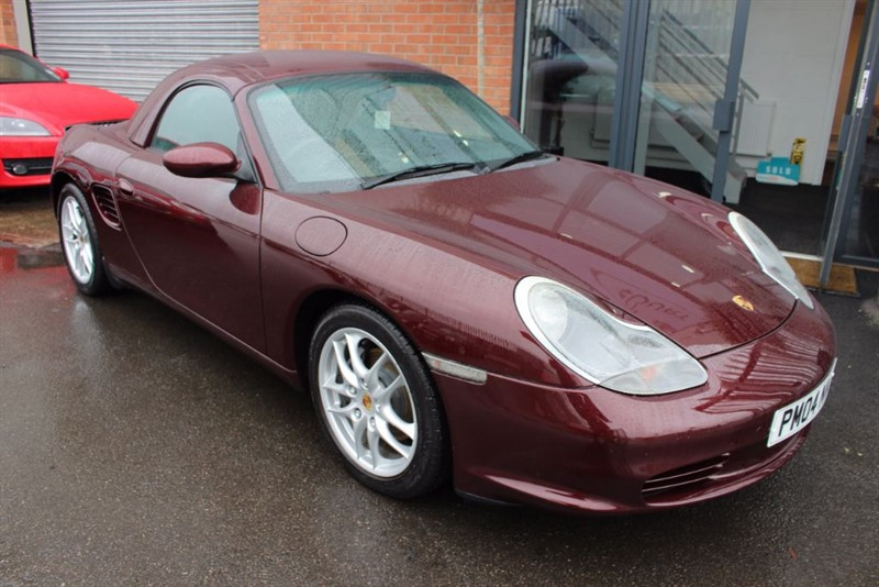 used Porsche Boxster LOW MILES WITH HARDTOP-IMMACULATE CONDITION in warrington-cheshire