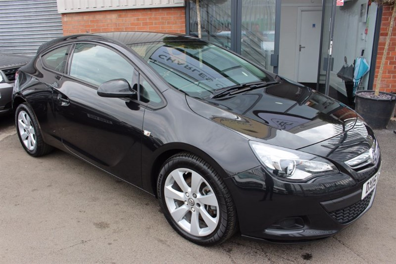 used Vauxhall Astra GTC SPORT CDTI S/S-BLUETOOTH-CRUISE CONTROL in warrington-cheshire