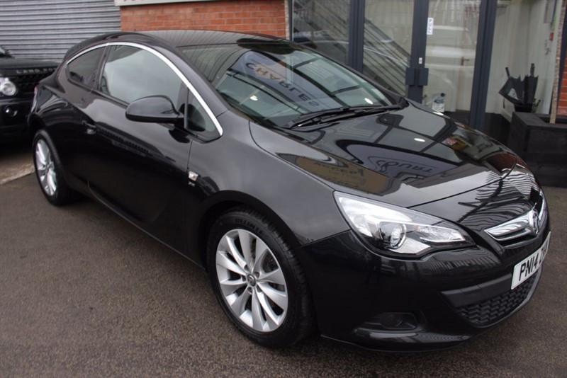 used Vauxhall Astra GTC SRI S/S in warrington-cheshire