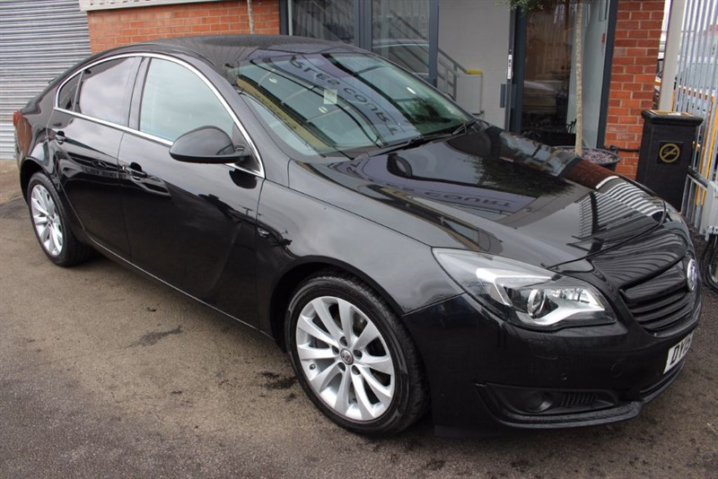used Vauxhall Insignia ELITE NAV CDTI-HEATED LEATHER  in warrington-cheshire
