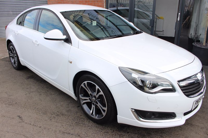 used Vauxhall Insignia LIMITED EDITION CDTI ECOFLEX S/S in warrington-cheshire