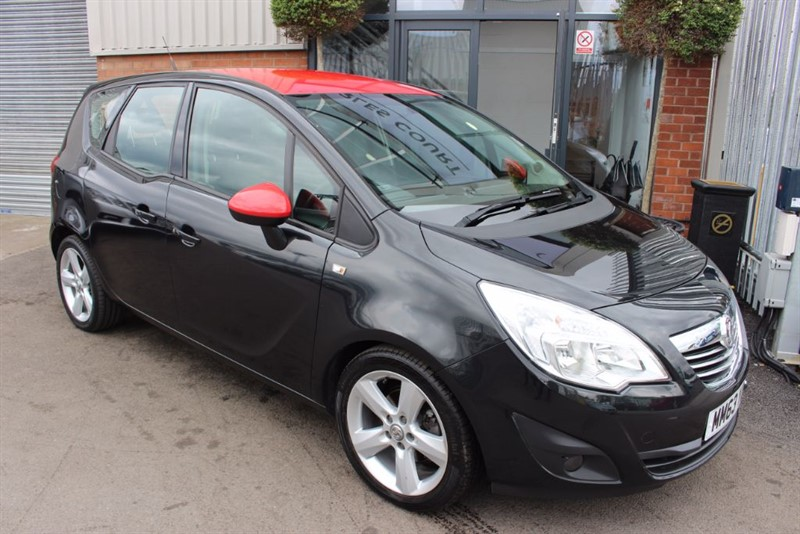 used Vauxhall Meriva TECH LINE-BLUETOOTH-CLOTH INTERIOR in warrington-cheshire