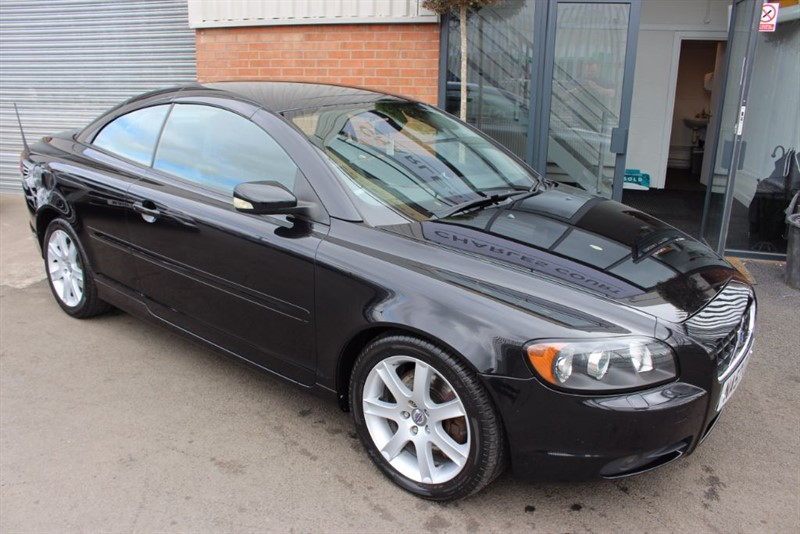 used Volvo C70 D5 SPORT-LEATHER UPHOLSTERY-NATIONWIDE DELIVERY in warrington-cheshire