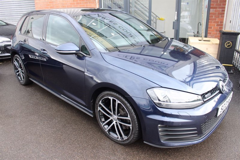 used VW Golf GTD-1OWNER-HEATED SEATS in warrington-cheshire