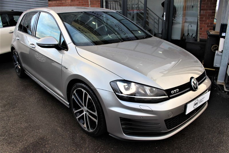 used VW Golf GTD in warrington-cheshire
