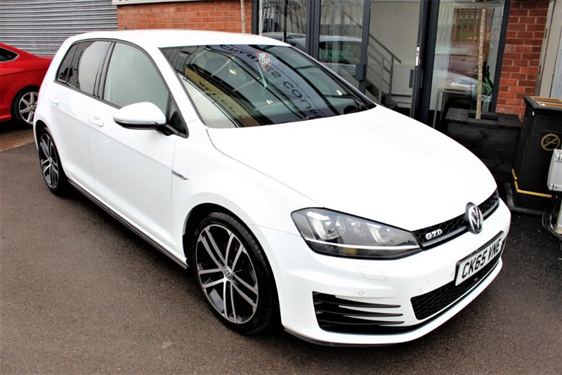 used VW Golf GTD DSG in warrington-cheshire