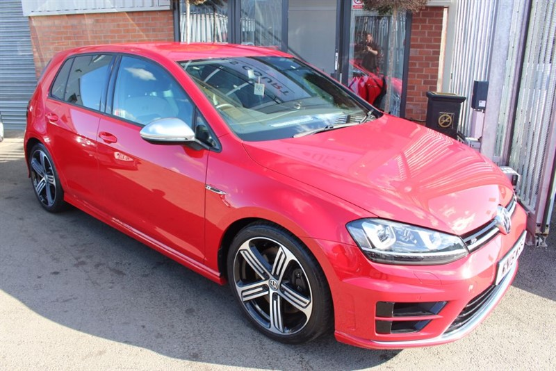 used VW Golf R-1OWNER-LOW MILEAGE in warrington-cheshire