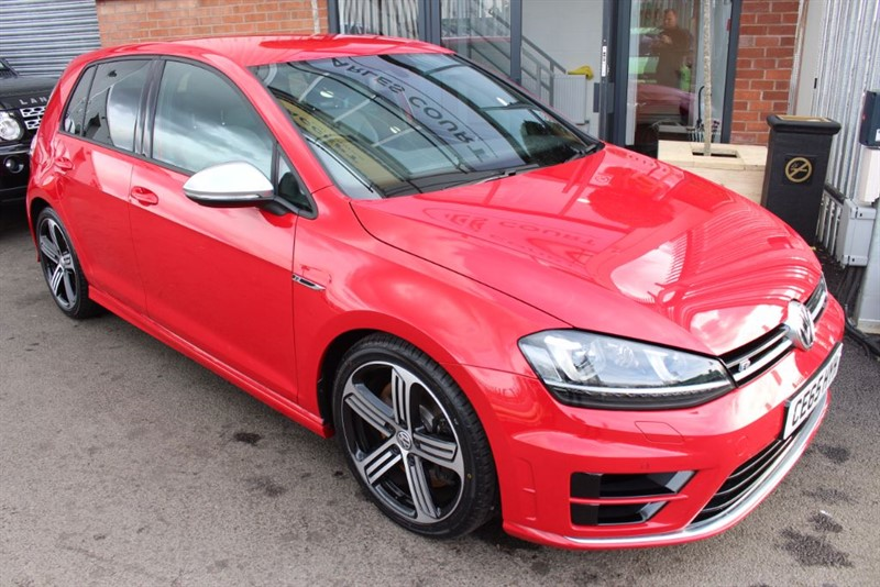 used VW Golf R-1 OWNER-XENONS-BLUETOOTH-CRUISE CONTROL in warrington-cheshire