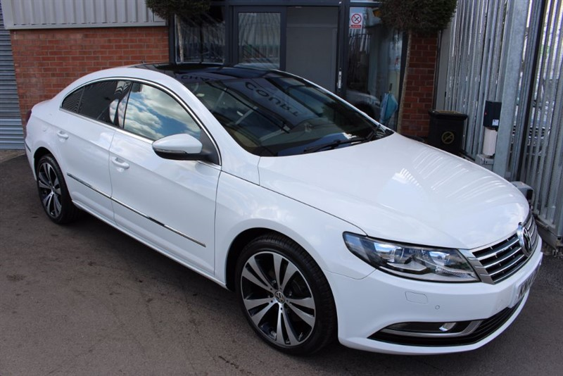 used VW Passat CC GT TDI BLUEMOTION TECHNOLOGY DSG-SATNAV-BLUETOOTH in warrington-cheshire