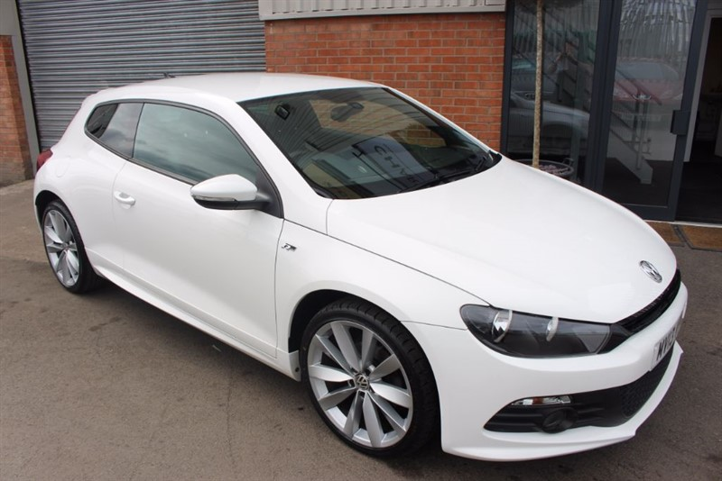 used VW Scirocco R LINE TDI BLUEMOTION TECHNOLOGY in warrington-cheshire