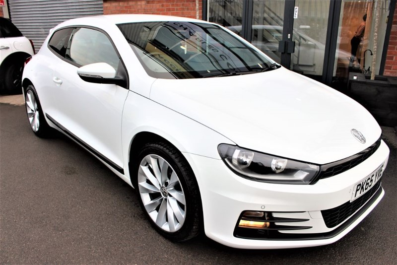 used VW Scirocco GT TDI BLUEMOTION TECHNOLOGY in warrington-cheshire