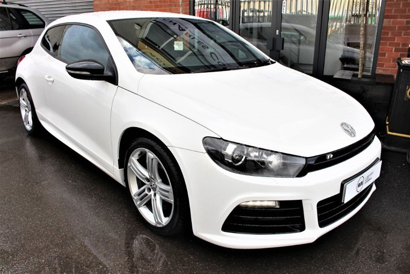 used VW Scirocco R-SAT NAV-HEATED LEATHER in warrington-cheshire