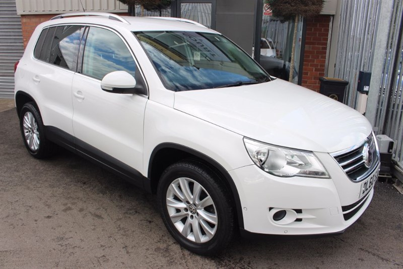 used VW Tiguan MATCH TDI 4MOTION in warrington-cheshire