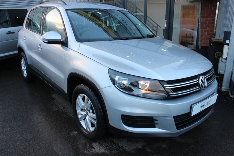 used VW Tiguan S TDI BLUEMOTION TECHNOLOGY in warrington-cheshire