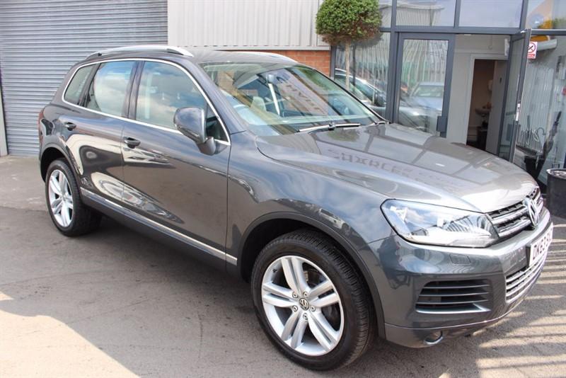 used VW Touareg V6 SE TDI BLUEMOTION TECHNOLOGY in warrington-cheshire
