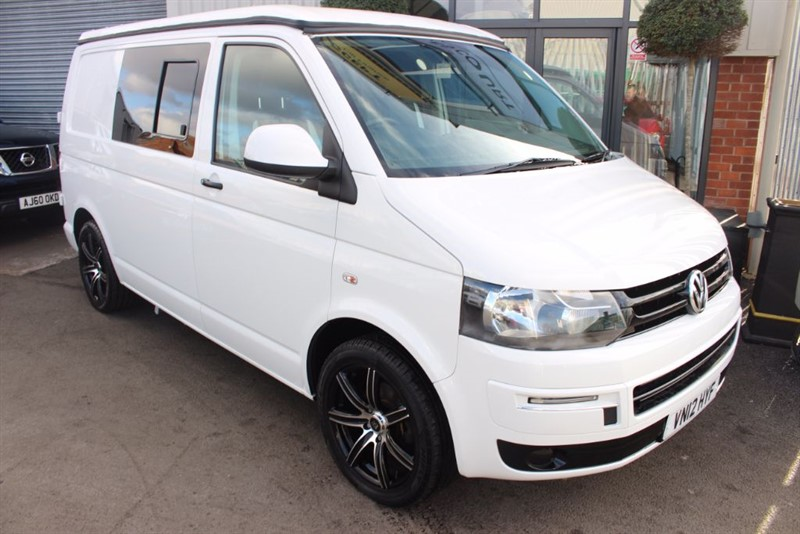 used VW Transporter T28 TDI-4 BERTH CONVERSION in warrington-cheshire