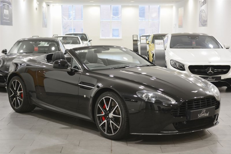 used Aston Martin Vantage V8 ROADSTER in sheffield-south-yorkshire