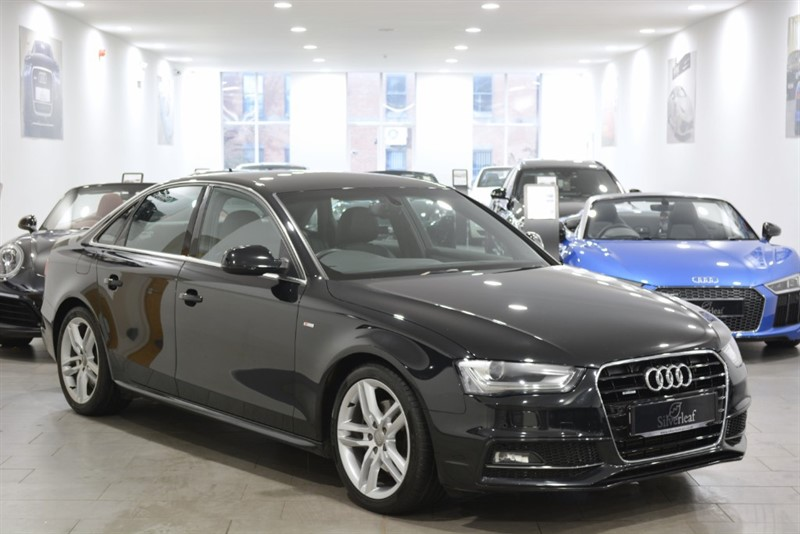 used Audi A4 TDI QUATTRO S LINE in sheffield-south-yorkshire