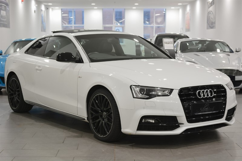 used Audi A5 TDI S LINE BLACK EDITION PLUS in sheffield-south-yorkshire
