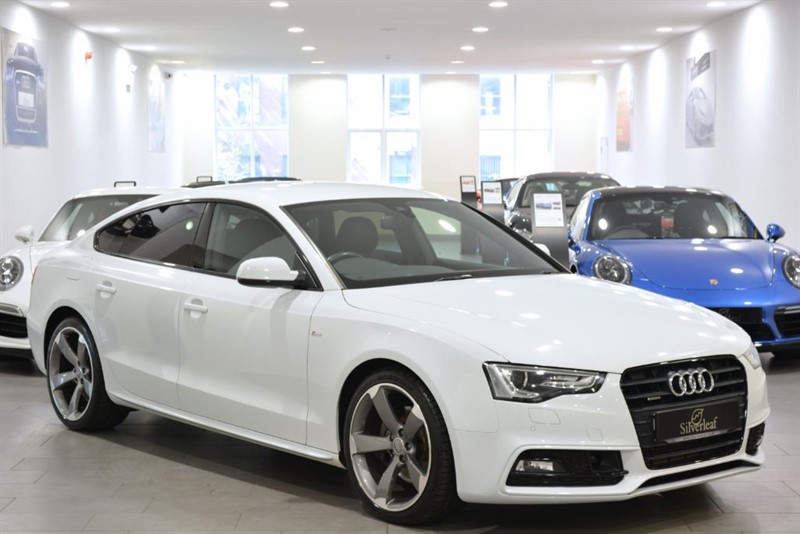 used Audi A5 SPORTBACK TDI QUATTRO S LINE BLACK ED S/S in sheffield-south-yorkshire